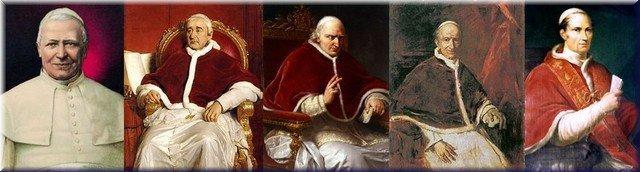 Papas del Siglo XIX